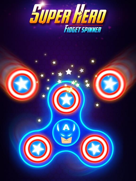 SuperHeroes Fidget Spinner screenshot #6