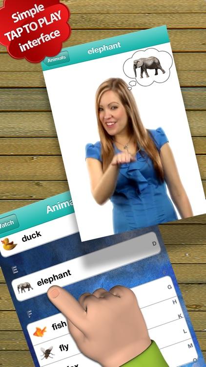 Baby Sign Language Dictionary - Lite Edition screenshot-3
