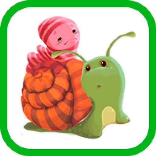 El caracol y la lombriz