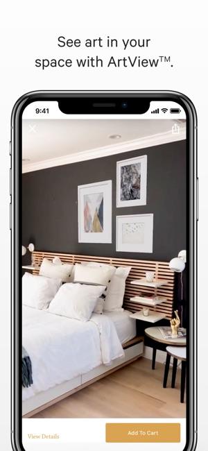 Art.com Interior Design Augmented Reality Art App