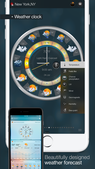 eWeather HD - Weather & Alerts Screenshot