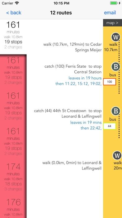 Grand Rapids Transport Guide screenshot 3