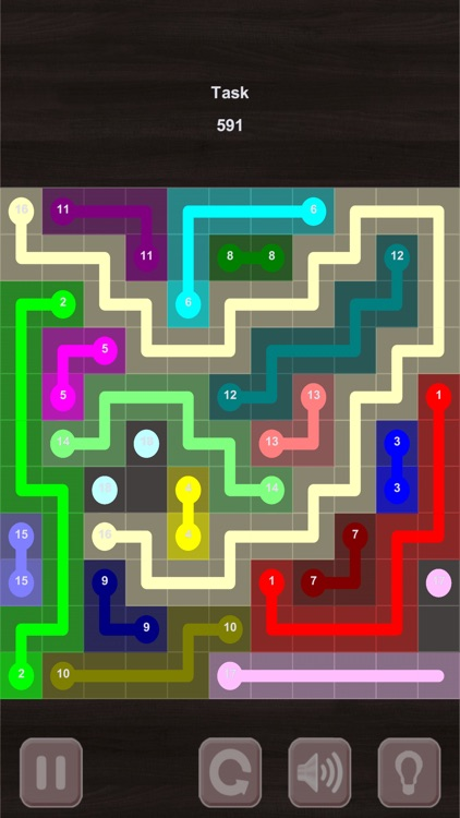 Color Lines. Stream edition