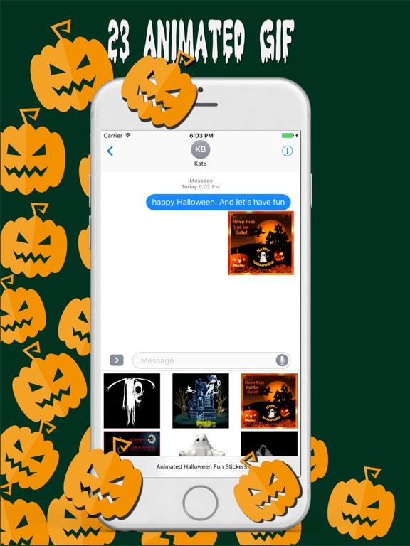 Animated Halloween Fun Sticker screenshot #1