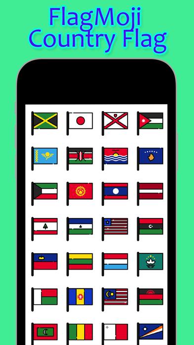 FlagMoji Country Flag screenshot one