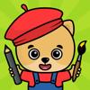 Barnspel - rit spel för barn