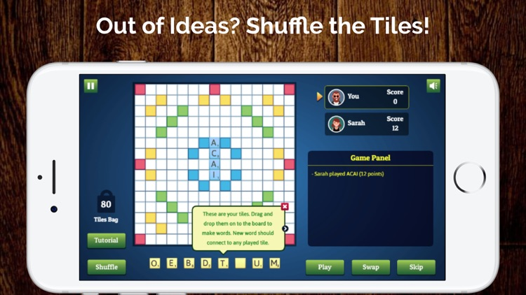Wordmeister Solo Word Puzzle screenshot-3