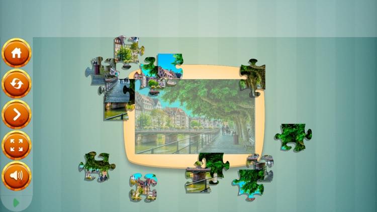 Jigsaw Puzzle France