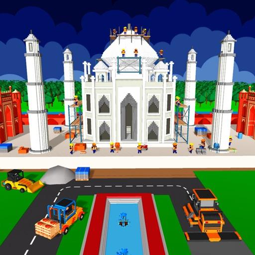 Taj Mahal Construction Games