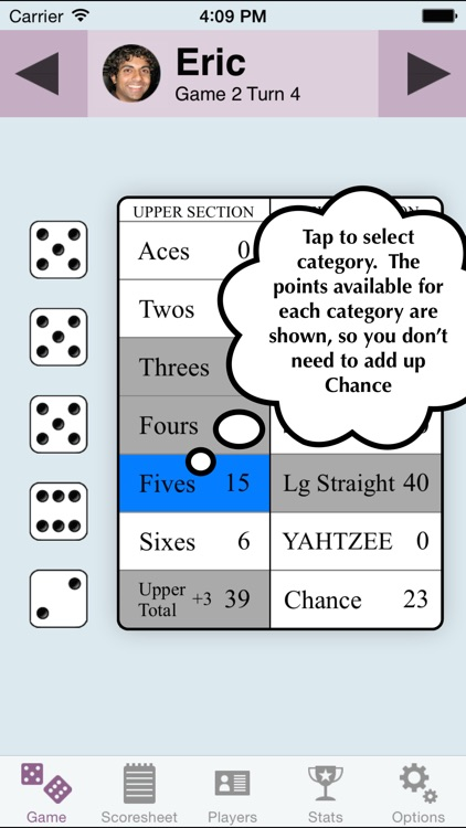 YZ Score - YAHTZEE® scoresheet screenshot-2