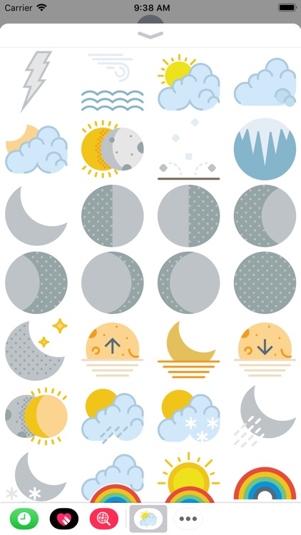 The Weather Sticker Pack