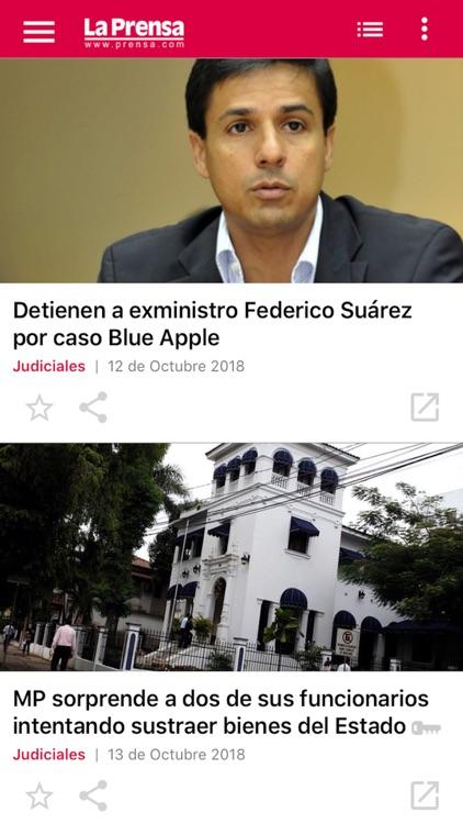 La Prensa para iPhone