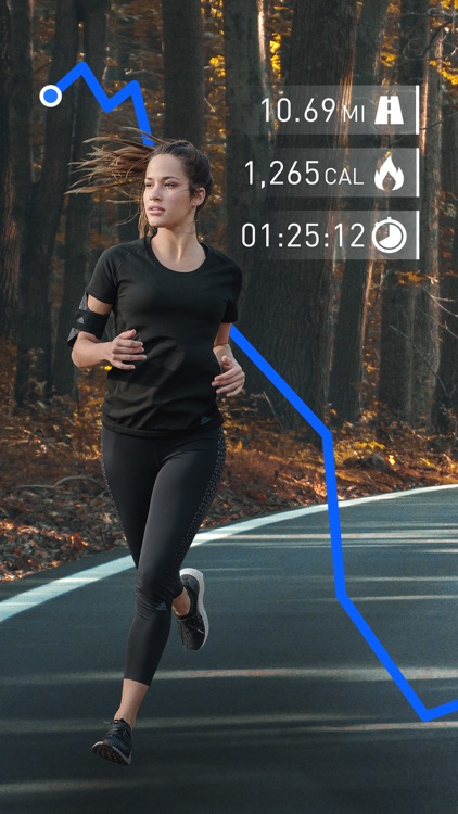 Runtastic Running: Run Tracker screenshot-0