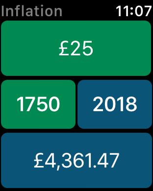 Screenshot #9 for Inflation Calculator