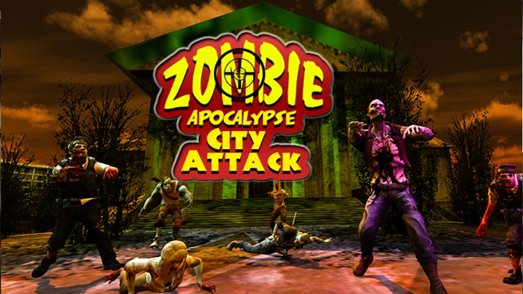 Zombie Apocalypse City Attack