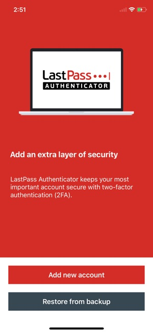 LastPass Authenticator on the App Store