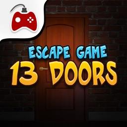 13 Doors Escape Games - start a puzzle challenge