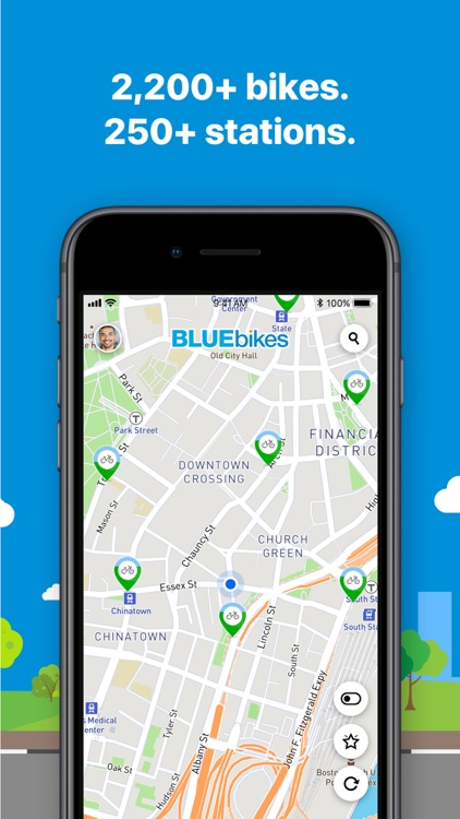 Bluebikes screenshot-1