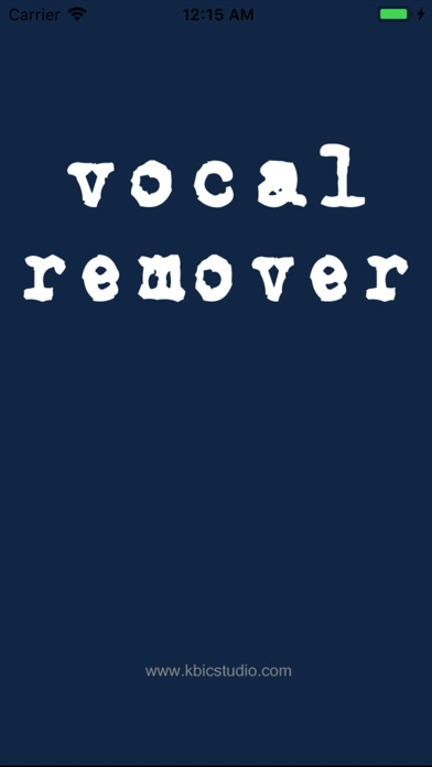 ボーカル削除ライト - Vocal Rem... screenshot1