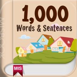 1,000 Words & Sentences EN-TH