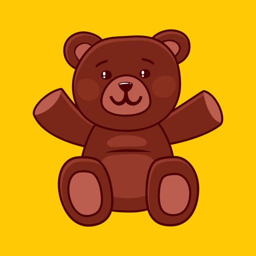 Teddy Love Stickers