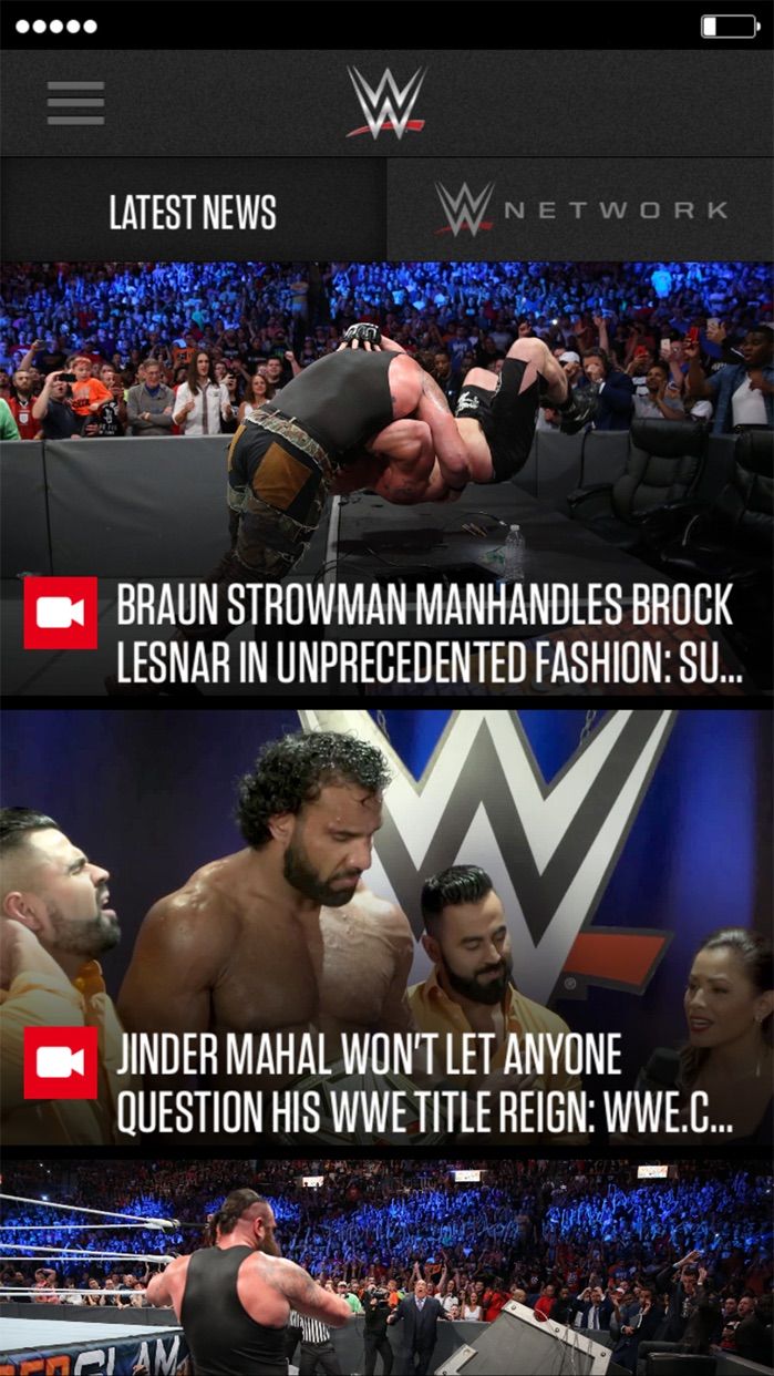 WWE Screenshot