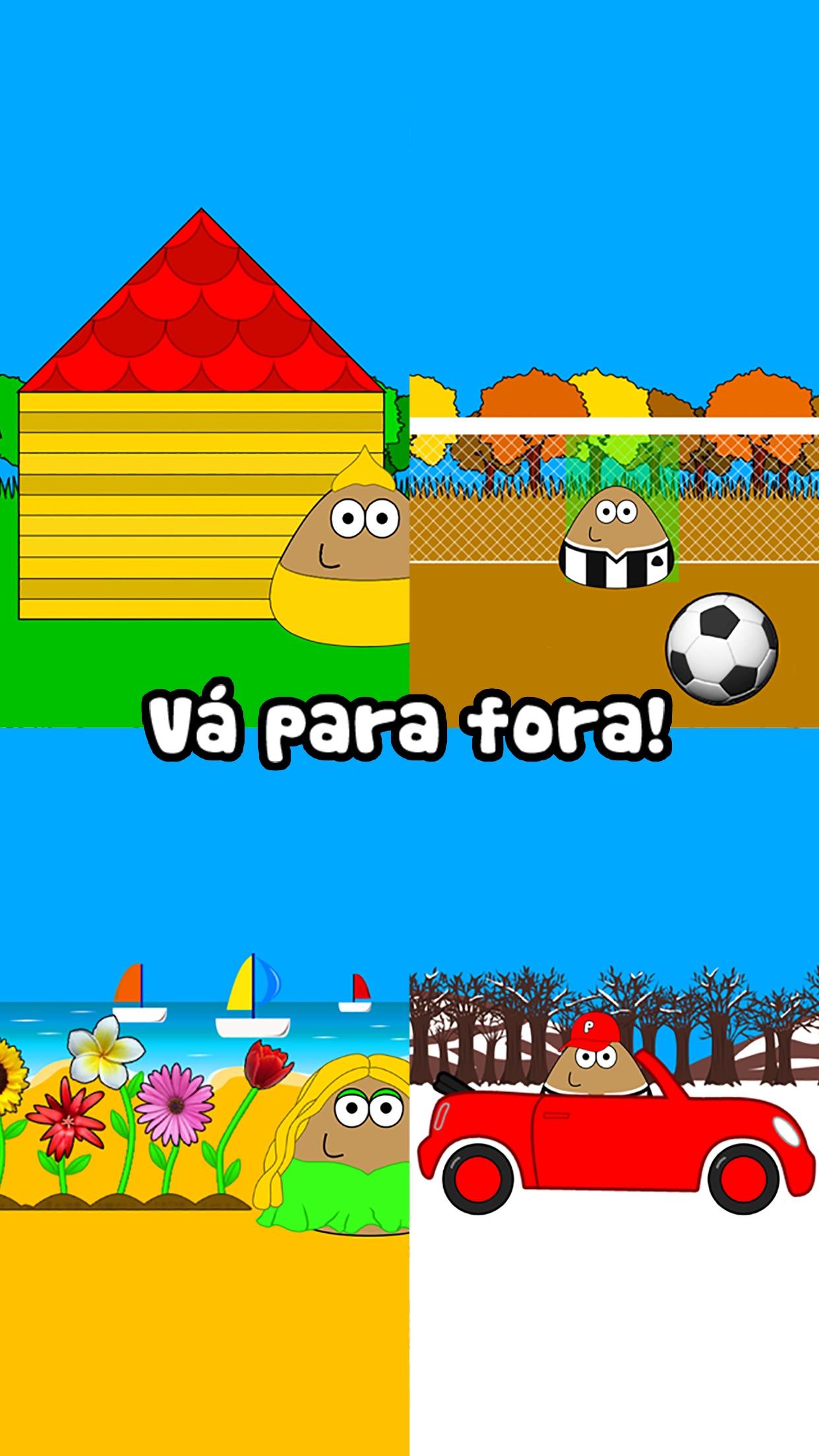 Screenshot do app Pou