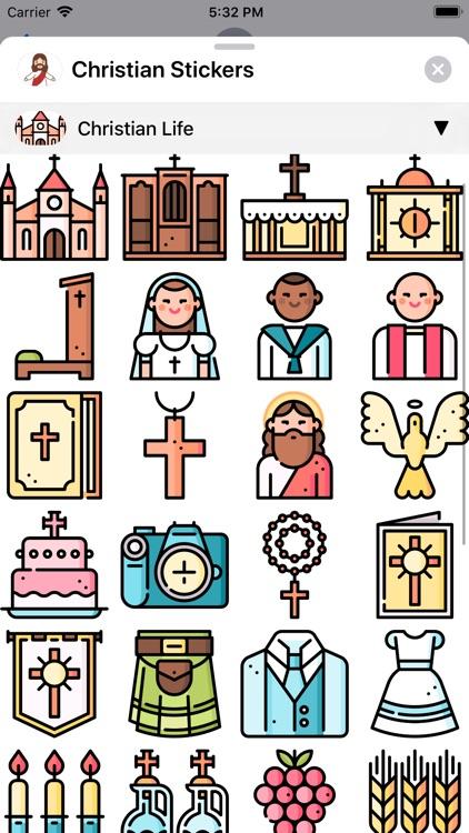 Christian Stickers App screenshot-5