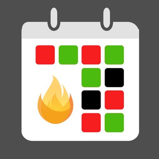 FireSync Shift Calendar