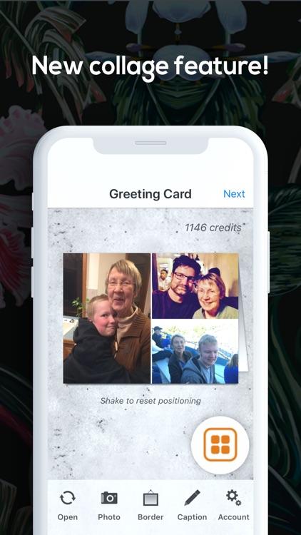SnapShot Greeting Cards App screenshot-4