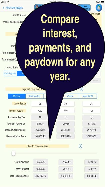 GoldMine Mortgage Analyzer screenshot-4