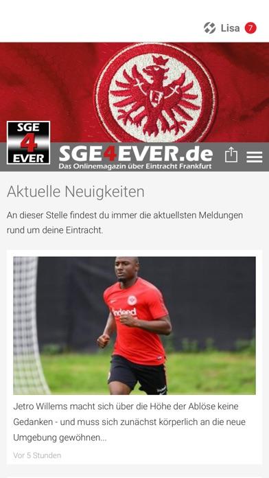 SGE4EVER.deScreenshot von 1