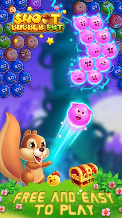 Bubble Shoot Pet screenshot-2