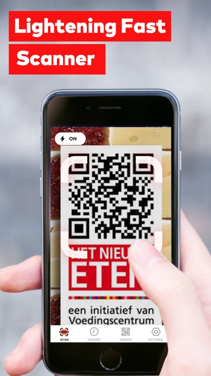 QR Code Reader and QR Scanner screenshot-0