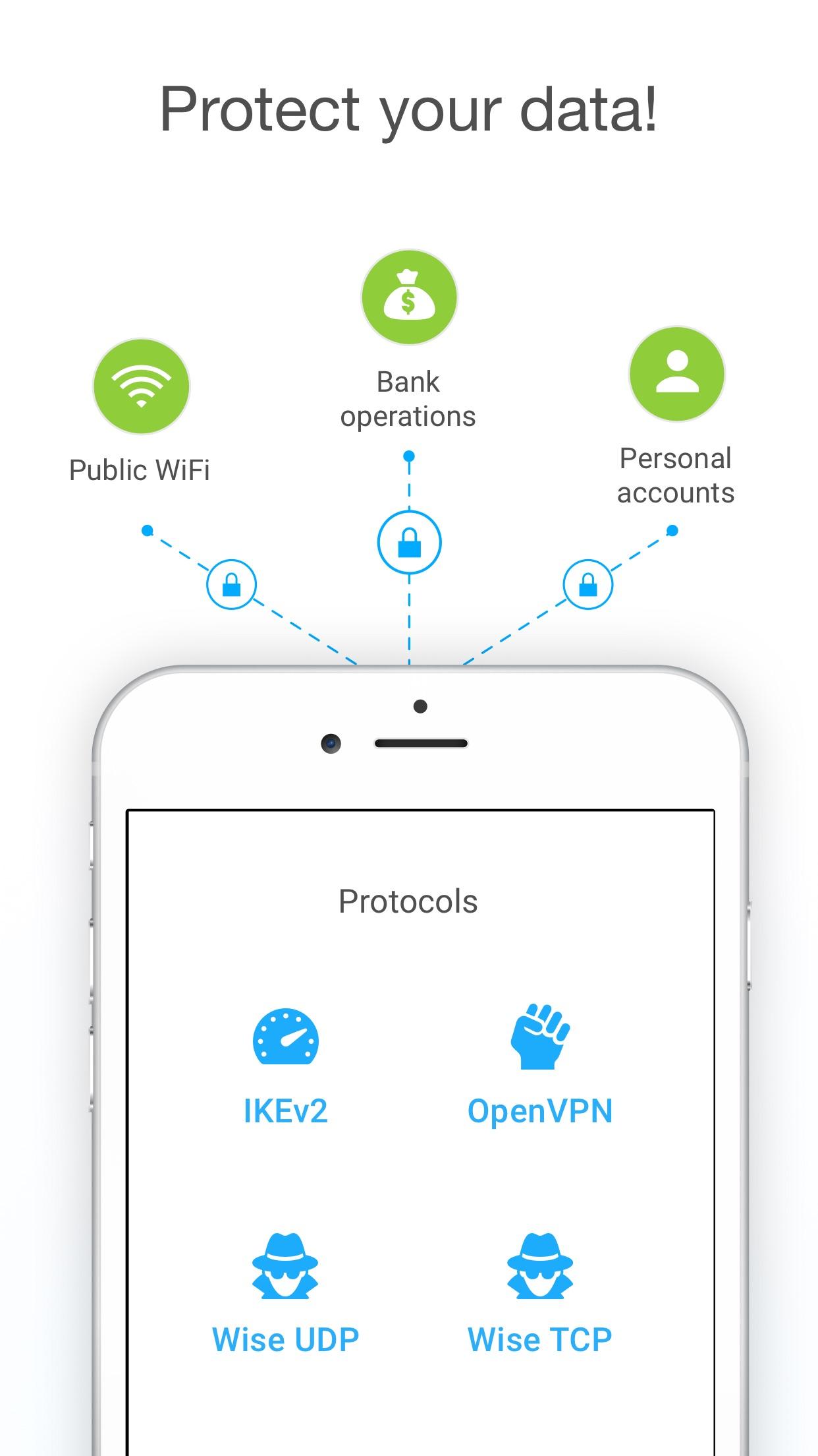 VPN Unlimited - WiFi Proxy Screenshot