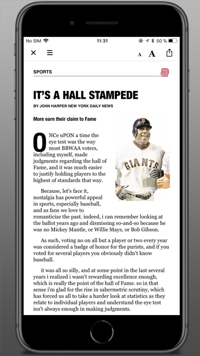 Daily News - Digital Edition Screenshot