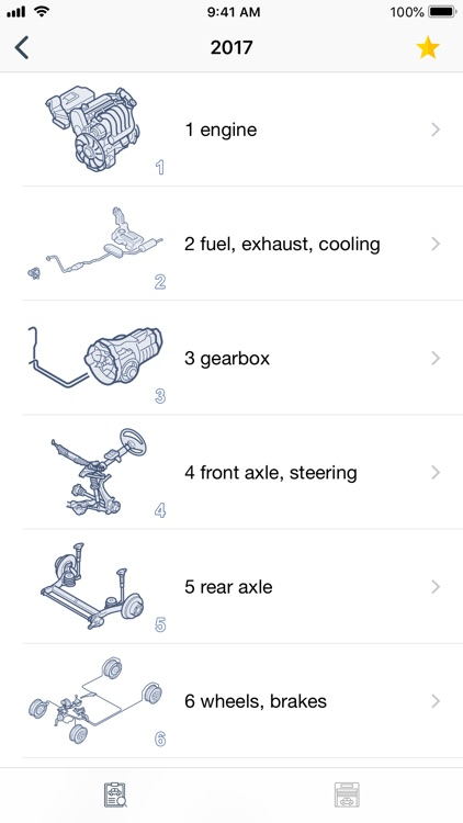 Car parts for Seat diagrams screenshot-4