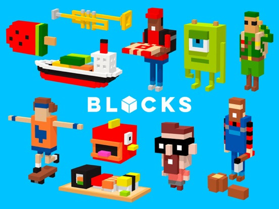 Tayasui Blocks Screenshots