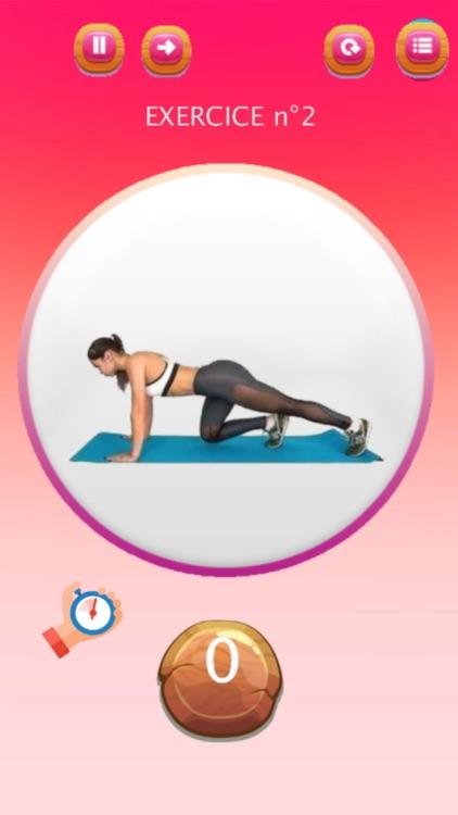 Buttocks workout - ABS & Butt screenshot-4