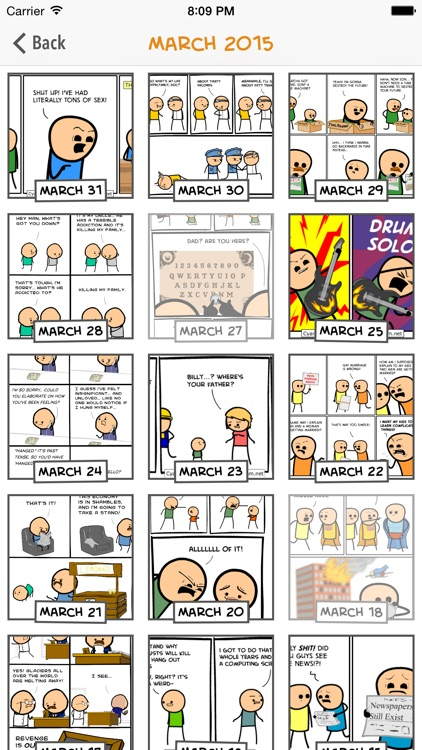 Cyanide & Happiness Lite screenshot-2