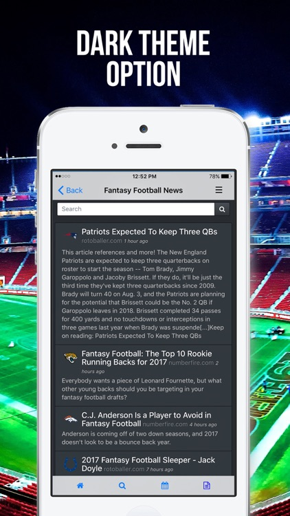 Fleaflicker Fantasy Football, Baseball, Basketball screenshot-4