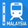 Malaysia Rail Map - Kuala Lumpur, Borneo