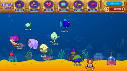 PokeAquarium - Feed Fishes! Fight Aliens! Screenshot 3