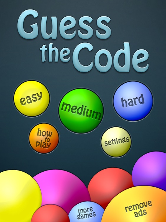 Guess the Code HD screenshot-3