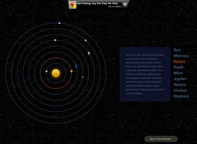 A Solar System Journey Screenshot