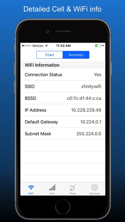 NetSignal - signal strength, wifi analyzer, tools screenshot-4
