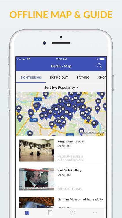 Berlin Offline Map & Guide screenshot-0