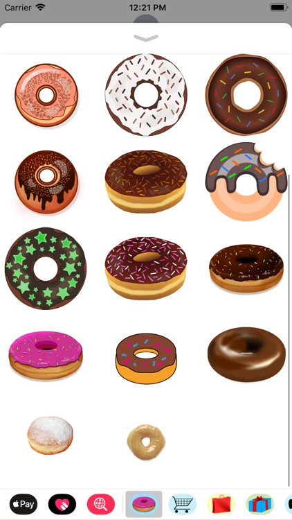 Decadent Donut Stickers