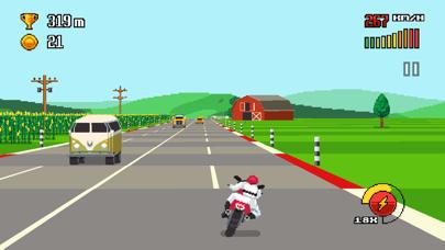 Retro Highway screenshot one