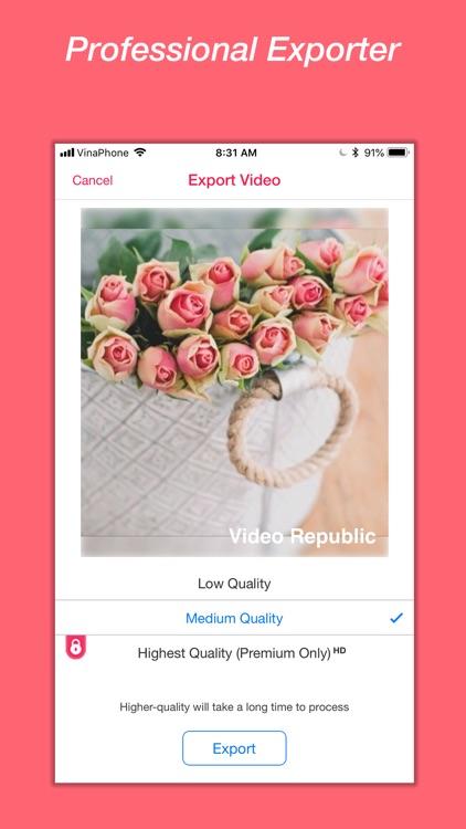 Video Republic - Video Editor screenshot-5